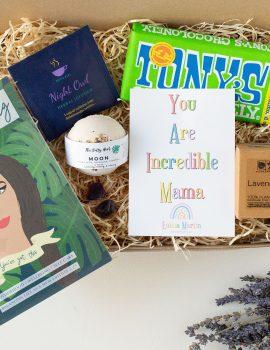 Incredible Mama self care and mindfulness gift box